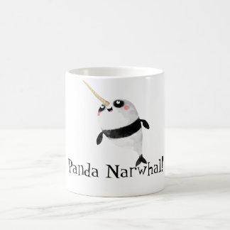 Narwhal and Panda in One Coffee Mug