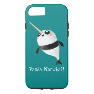 Narwhal and Panda in One iPhone 7 Case