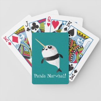 Narwhal and Panda in One Poker Cards