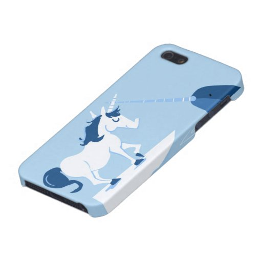 Narwhal and Unicorn Case For iPhone 5