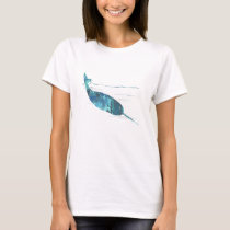 Narwhal Art T-Shirt