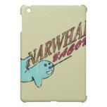 Narwhal Bacon Retro Logo iPad Mini Cover