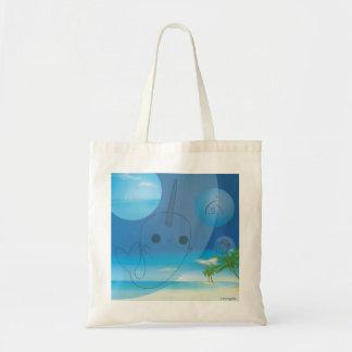 Narwhal (Beach) Budget Tote Bag