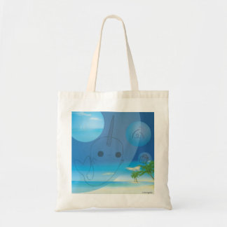 Narwhal (Beach) Tote Bag