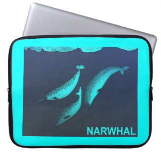 Narwhal Computer Sleeve