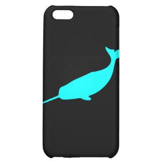 Narwhal cute whale unicorn of the sea nautical cover for iPhone 5C