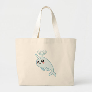 Narwhal Cutie Jumbo Tote Bag