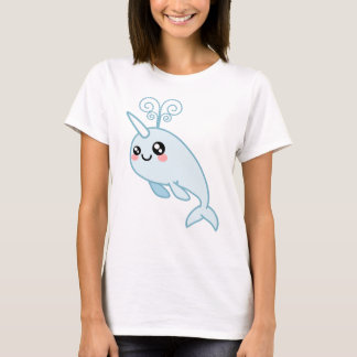 Narwhal Cutie Playera