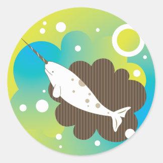 Narwhal Dream Sticker