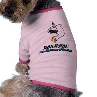 Narwhal: El unicornio del mar Camiseta De Perrito