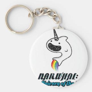 Narwhal: El unicornio del mar Llavero Personalizado