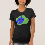 Narwhal (Green Background) Tee Shirt
