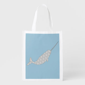 Narwhal Grocery Bag