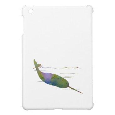 Beach Themed Narwhal iPad Mini Case