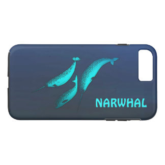 Narwhal iPhone 7 Plus Case