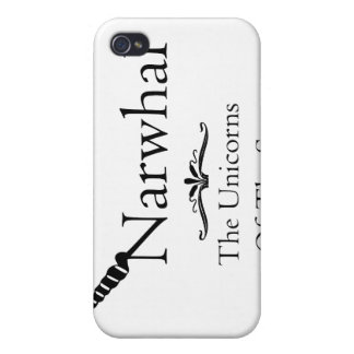 Narwhal iPhone 4/4S Cover