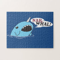 Narwhal Jigsaw Puzzle