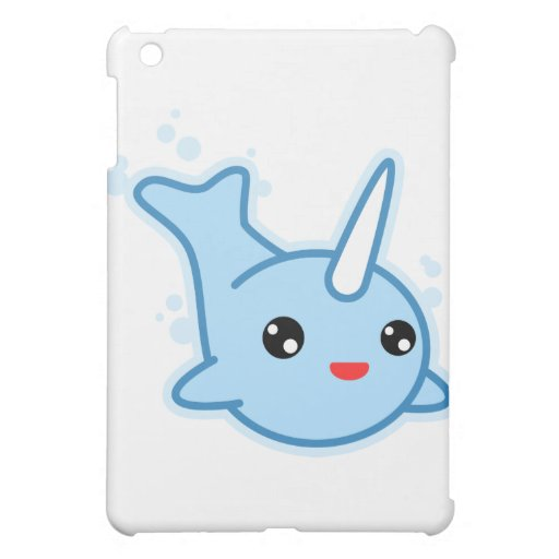 Narwhal Kawaii Cover For The iPad Mini