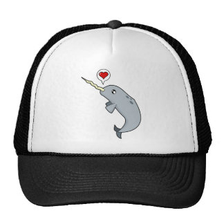 Narwhal Love Trucker Hat