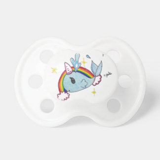 narwhal pacifier