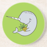 Narwhal Pineapple Coaster