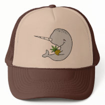 Narwhal Pineapple Hat