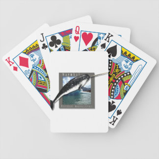 Narwhal Bicycle Playing Cards