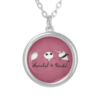 Narwhal plus Panda! Necklaces
