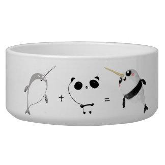 Narwhal plus Panda! Pet Water Bowl