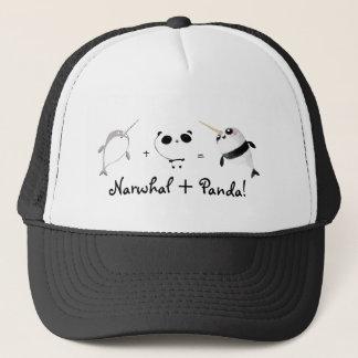 Narwhal plus Panda! Trucker Hat