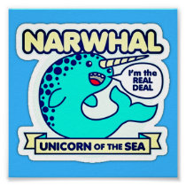 Narwhal Poster