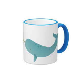 Narwhal Ringer Mug