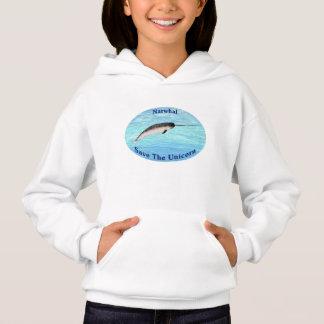 Narwhal - Save The Unicorn Hoodie