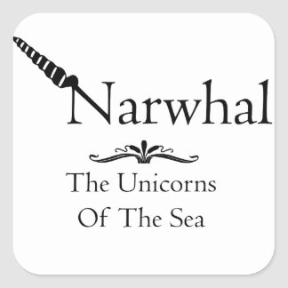 Narwhal Sticker