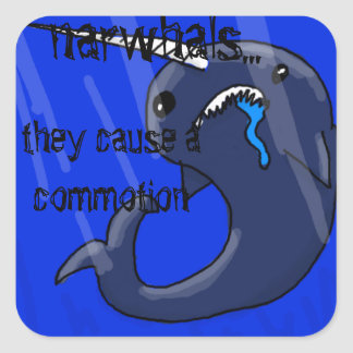 Narwhal Stickers