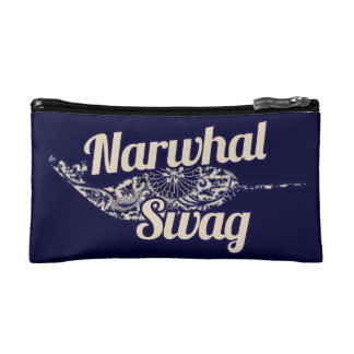 Narwhal Swag Cosmetic Bag