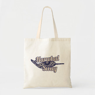 Narwhal Swag Tote Bags