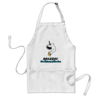 Narwhal:The Unicorn of the Sea Adult Apron