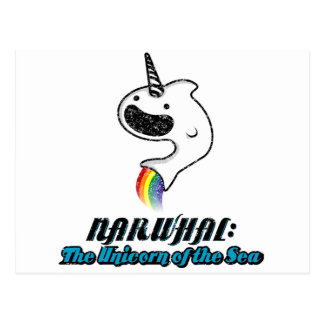 Narwhal:The Unicorn of the Sea Postcard