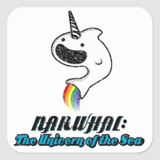 Narwhal:The Unicorn of the Sea Stickers