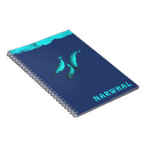 Narwhal Under The Ice Notebook