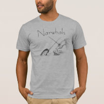 Narwhal unicorn, Narwhals T-Shirt