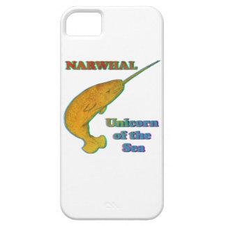 Narwhal - Unicorn of the Sea iPhone 5 Case
