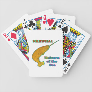 Narwhal - Unicorn of the Sea Bicycle Card Deck
