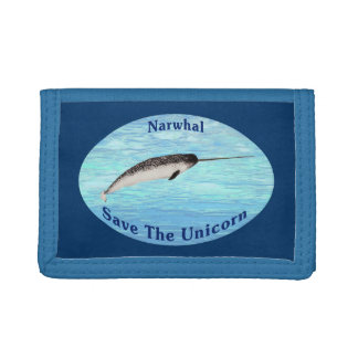 Narwhal - Unicorn Trifold Wallets