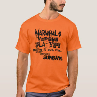 Narwhal V.S Platypus T-Shirt