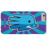 Hand shaped Narwhal Whale Tooth Barely There iPhone 6 Plus Case