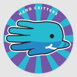 Narwhal Whale Tooth Classic Round Sticker