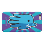 Hand shaped Narwhal Whale Tooth Glossy iPhone 6 Plus Case