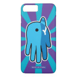 Hand shaped Narwhal Whale Tooth iPhone 8 Plus/7 Plus Case